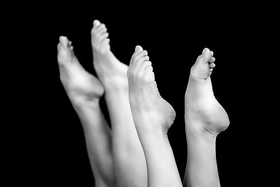 Schöne schmerzfreie Füße